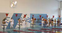 Uczniowie z powiatu rywalizowali na pływalni Rypińskiego Centrum Sportu