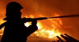 Gigantyczny pożar w Nadrożu