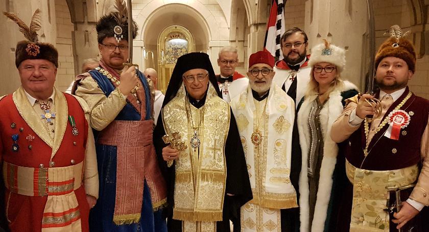 spotkania, Melchicki Patriarcha całego Wschodu pielgrzymką Centrum Pawła - zdjęcie, fotografia