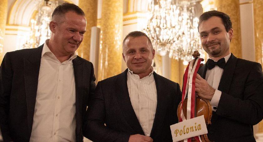 wydarzenia, Janusz Wawrowski skrzypce Stradivariusa wręczenia Fryderyków! - zdjęcie, fotografia