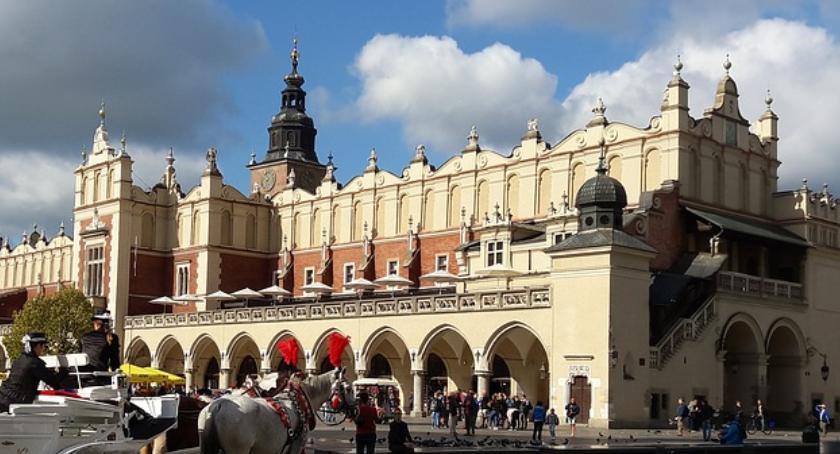 Miasto Kraków, rekordowy turystyki Krakowie - zdjęcie, fotografia