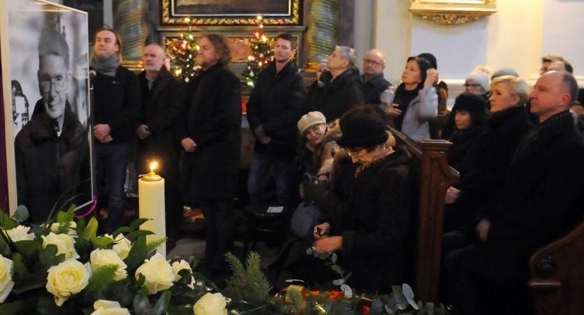 Wspomnienia Nekrologi, Pogrzeb Mieczysława Malińskiego - zdjęcie, fotografia