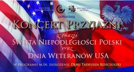 Koncert Przyjaźni z okazji Święta Niepodległości Polski i Dnia Weteranów USA