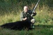 Relacje z polowań, Polowanie niedźwiedzia łosia Kanadzie - zdjęcie, fotografia