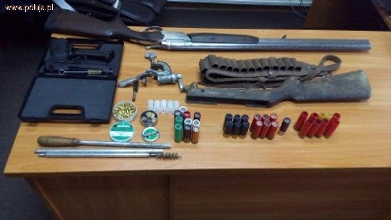 Kłusownictwo, Przestępcze odpowie kłusownictwo posiadanie broni wyrabianie amunicji - zdjęcie, fotografia
