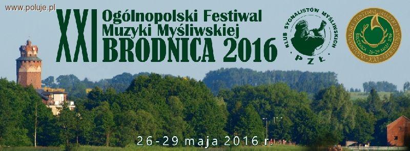 Imprezy myśliwskie relacje, Ogólnopolski Festiwal Muzyki Myśliwskiej Brodnica - zdjęcie, fotografia