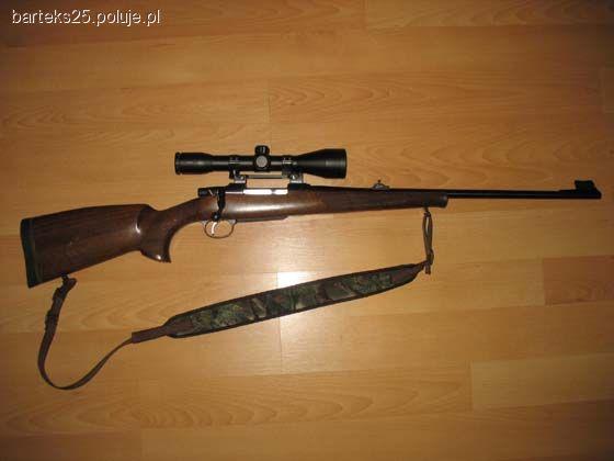 Broń myśliwska, Dubeltówka sztucer - zdjęcie, fotografia