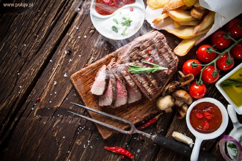 Kuchnia myśliwska, Sześć nietypowych przepisów dania grilla - zdjęcie, fotografia
