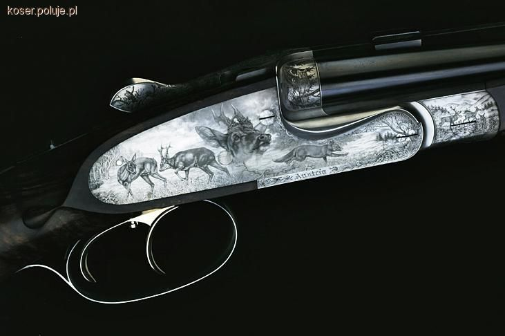 Broń myśliwska, Ekspres horyzontalny - zdjęcie, fotografia