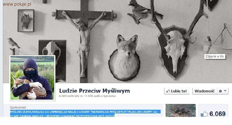 poluje.pl, Nienawidzę myśliwych – zamknięta strona - zdjęcie, fotografia