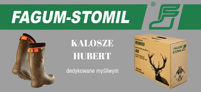 Odzież myśliwska, Kalosze myśliwskie Hubert – prezentacja obuwia - zdjęcie, fotografia