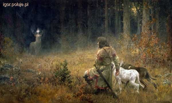 Tradycja łowiecka, Hubert zbliża listopada - zdjęcie, fotografia