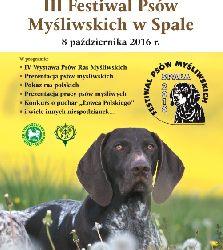 III Festiwal Psów Myśliwskich w Spale