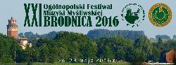 XXI Ogólnopolski Festiwal Muzyki Myśliwskiej Brodnica 2016