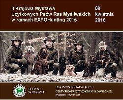 EXPOHunting 2016: II Krajowa Wystawa Użytkowych Psów Ras Myśliwskich