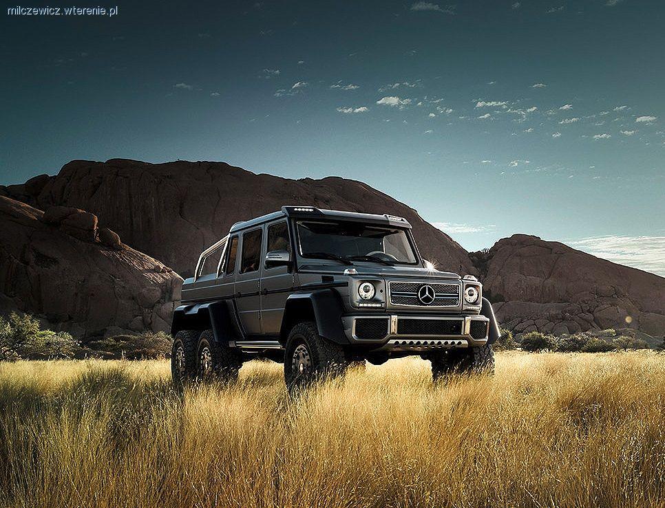 Auto terenowe, Monstrum mercedesa - zdjęcie, fotografia