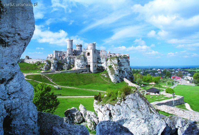Felietony blogerów, Zamek Ogrodzieniec (ruiny zamku Podzamcze) - zdjęcie, fotografia