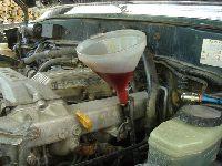 Wymiana oleju w automatycznej skrzyni biegów - Toyota