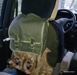 Wyprawowe pokrowce na siedzenia.