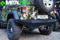 Tylny Zderzak dla Jeep Wrangler JK by MetalPasja.pl