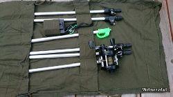 System ochrony obozowiska przed dwu i cztero nożnymi intruzami.
