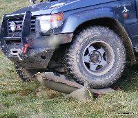 Trapy 4x4 - pneumatyczne poduszki off road