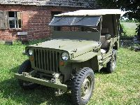 Jeep Willys MB - replika