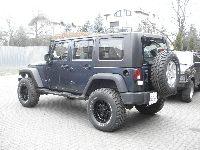 Jeep Wrangler JK Rubicon - modyfikacje off road