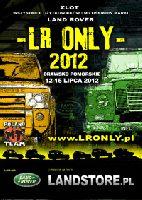 LR ONLY Międz. Zlot Miłośników Land Roverów, Drawsko 12-15.07.2012