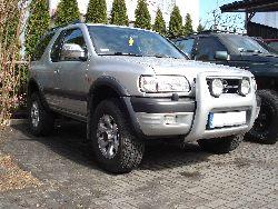 Opel Frontera / Isuzu Rodeo - lift zawieszenia
