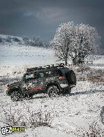 Kamanda STAG na Zakarpaciu - Zimowy Off-road na Ukrainie
