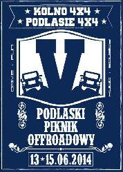 V Podlaski Piknik Off-roadowy 13-15.06.2014