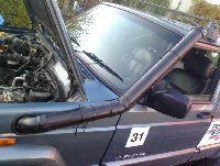 Jeep Cherokee XJ snorkel czyli montujemy kibelrurę
