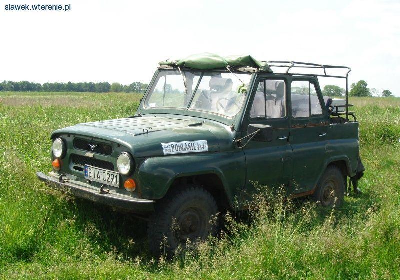 Wspaniały Stare samochody terenowe, zabytkowe auta off road, oldtimery 4x4 BM33