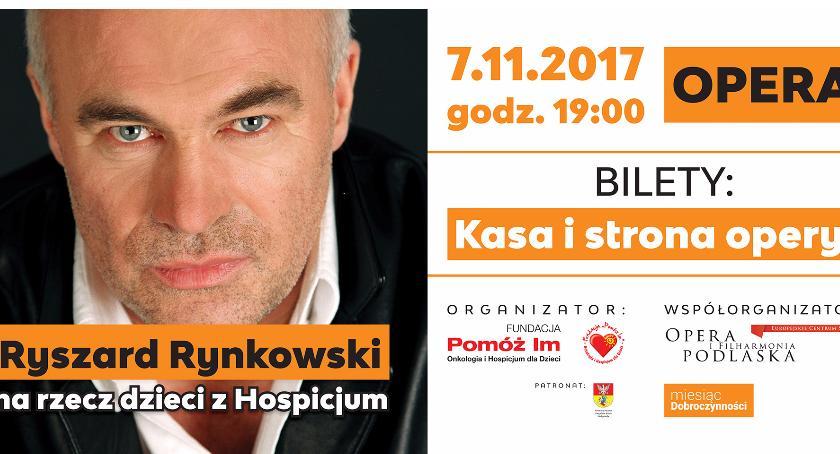 Koncerty, Ryszard Rynkowski zaśpiewa koncercie charytatywnym Białymstoku - zdjęcie, fotografia