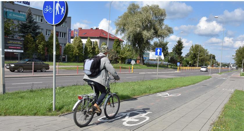 Wiadomości, Jeszcze wygodniej pojedziemy rowerem Hetmańskiej - zdjęcie, fotografia