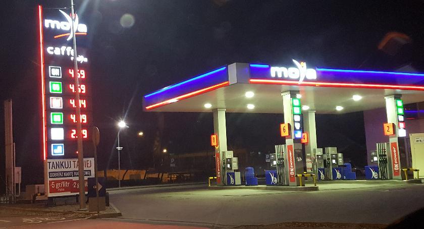 Wiadomości, Białymstoku pojawiły stacje paliw starych miejscach - zdjęcie, fotografia