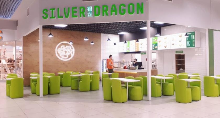 Smaczny Białystok, Silver Dragon restauracja Galerii Zielone Wzgórza - zdjęcie, fotografia