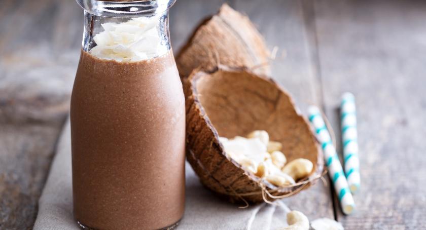Smaczny Białystok, upalne proponujemy kawowego szejka nutką kokosową - zdjęcie, fotografia