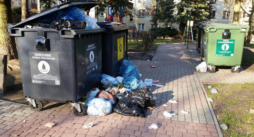 Wiadomości, Śmietnikowy bajzel nadal - zdjęcie, fotografia