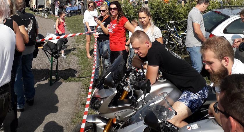 Wiadomości, Motocykliści sercach wielkich silniki motocykli specjalne podziękowania - zdjęcie, fotografia