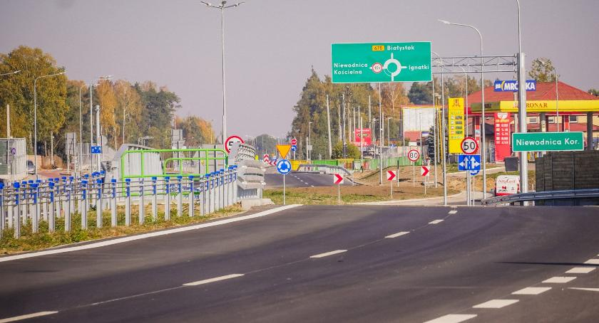 Moto, Kleosina Markowszczyzny można jechać nową drogą - zdjęcie, fotografia