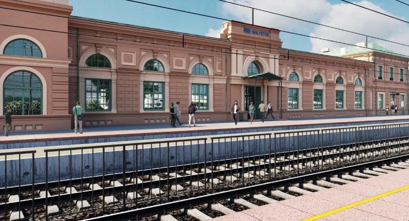 Wiadomości, Dworzec Białymstoku zrealizuje Budimex Umowa została podpisana - zdjęcie, fotografia