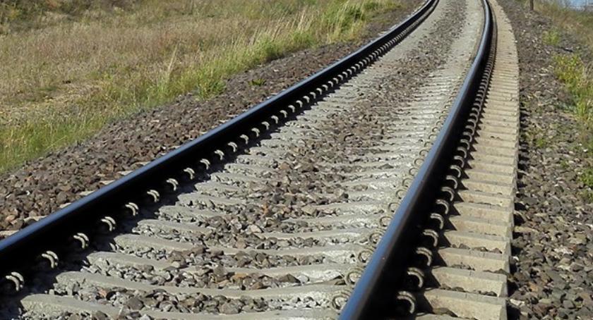 Wiadomości, Linia kolejowa Łomży remontowana - zdjęcie, fotografia