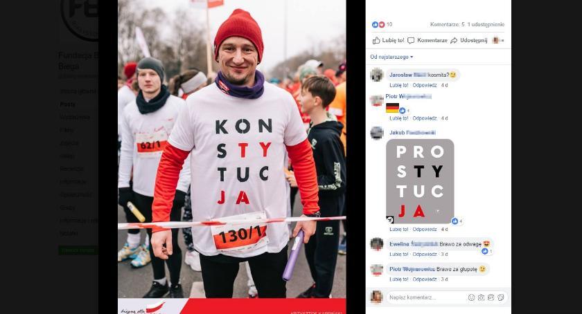 Wiadomości, koszulce radny pobiegłby lepiej Warszawie - zdjęcie, fotografia