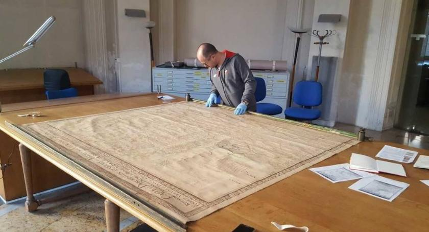 Co, gdzie, kiedy?, Białostoccy historycy odnaleźli Paryżu unikatową mapę Polski wieku - zdjęcie, fotografia