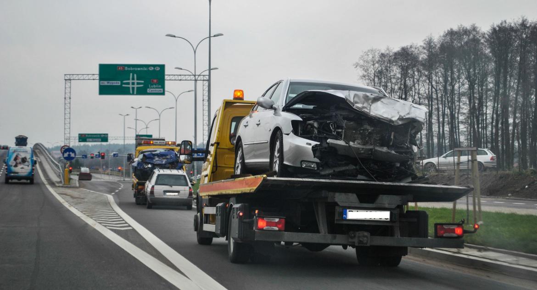 Moto, Podlaskie drogi mniej zabitych rannych więcej kolizji Jakie przyczyny wypadków - zdjęcie, fotografia