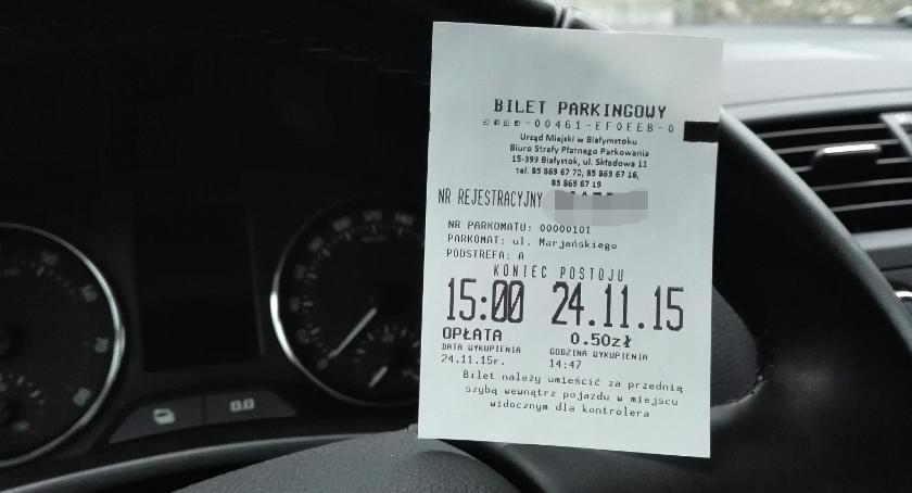 Moto, Parkomaty numery rejestracyjne Miasto zbiera osobowe - zdjęcie, fotografia
