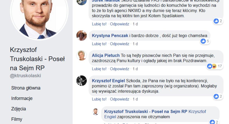 Wiadomości, Truskolaski publicznie szerzy kłamstwa internecie Pomaga spotted - zdjęcie, fotografia