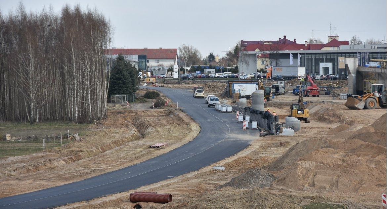 Moto, Duża inwestycja duże utrudnienia ruchu Ruszył kolejny budowy węzła Porosły - zdjęcie, fotografia
